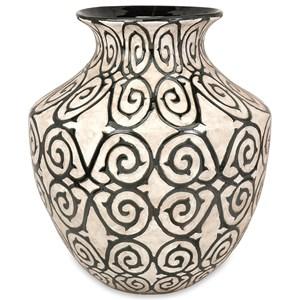 IMAX Worldwide Home Vases Benigna Wide Oversized Floor Vase