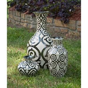 IMAX Worldwide Home Vases Benigna Short Vase