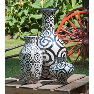 IMAX Worldwide Home Vases Benigna Tall Oversized Floor Vase
