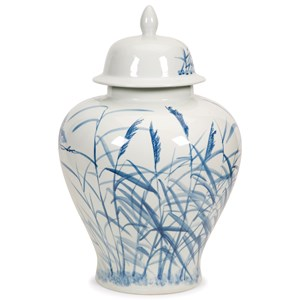 IMAX Worldwide Home Vases Tollmache Large Lidded Urn