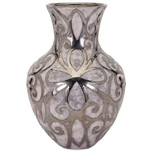 IMAX Worldwide Home Vases Rowena Large Earthenware Vase