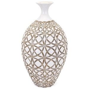 IMAX Worldwide Home Vases Kelsang Tall Earthenware Vase