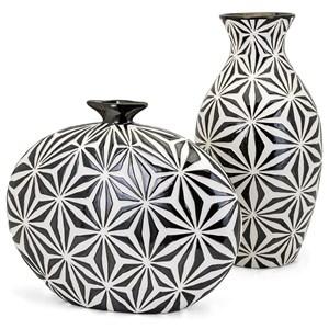 IMAX Worldwide Home Vases Amrita Short Earthenware Vase
