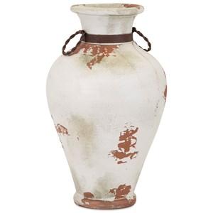 IMAX Worldwide Home Vases Pacific Terracotta Vase