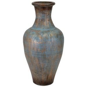 IMAX Worldwide Home Vases Dora Terracotta Vase