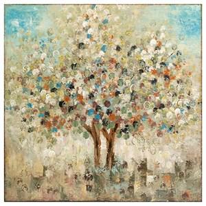IMAX Worldwide Home Wall Art Seasons Handpainted Oil Canvas