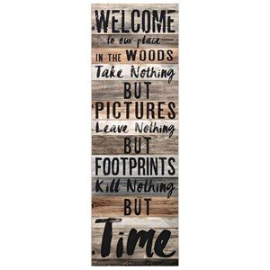 IMAX Worldwide Home Wall Art Welcome to the Woods Wall Decor