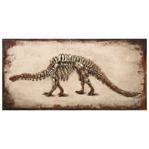IMAX Worldwide Home Wall Art Dinosaur Dimensional Wall Art