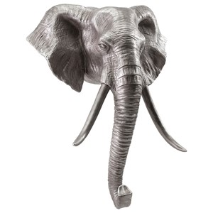 IMAX Worldwide Home Wall Art Rizzo Elephant Wall Decor
