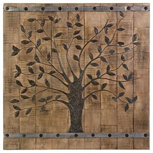 IMAX Worldwide Home Wall Art Tree of Life Wood Wall Panel