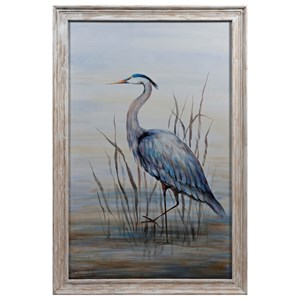 IMAX Worldwide Home Wall Art Hampton Framed Oil Painting