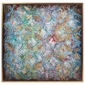 IMAX Worldwide Home Wall Art Neville Framed Oil Painting
