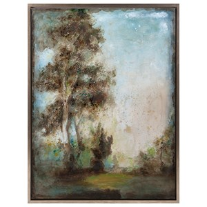 IMAX Worldwide Home Wall Art Harmonious Framed Oil Painting