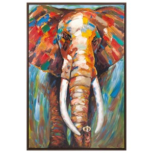 IMAX Worldwide Home Wall Art Kandula Framed Oil Painting