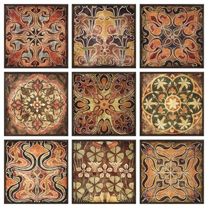 IMAX Worldwide Home Wall Art Tuscan Wall Panels - Set of 9