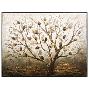 IMAX Worldwide Home Wall Art Banyan Oil Painting with Frame