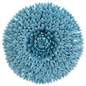 IMAX Worldwide Home Wall Art Veleda Porcelain Wall Flower