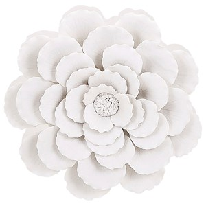 IMAX Worldwide Home Wall Art Evington Small Porcelain Wall Flower