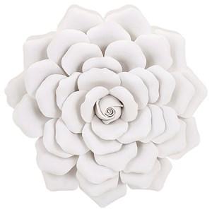 IMAX Worldwide Home Wall Art Evington Medium Porcelain Wall Flower