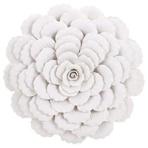 IMAX Worldwide Home Wall Art Evington Large Porcelain Wall Flower