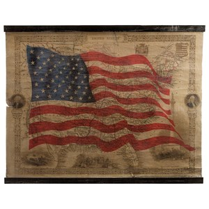 IMAX Worldwide Home Wall Art United States of America Wall Decor