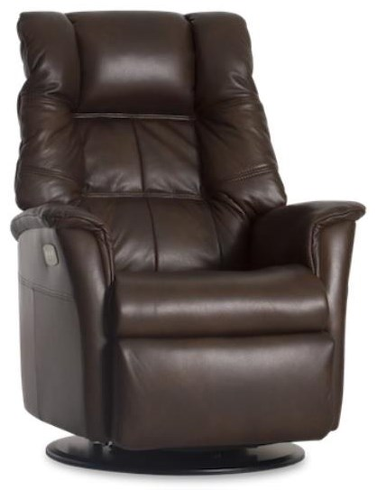 Boston Swivel Glider Power Recliner by IMG Norway at Johnny Janosik