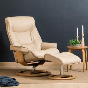 Small Cortina Recliner and Ottoman