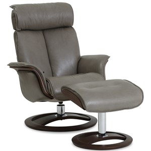 IMG Norway Space Ergo-Tilt Recliner with Footstool