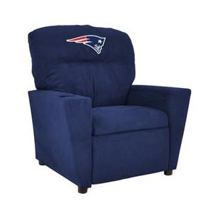 Imperial International Team Seating NE Patriots Tween Microfiber Recliner