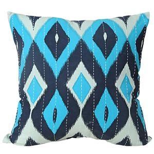"""India House Diamond 20"""" Pillow"""