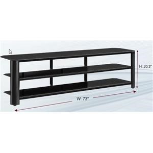 """Innovex Oxima (by Innovex) 73"""" TV stand"""