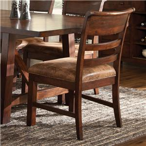 Intercon Bench Creek Ladder Back Side Chair