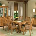 Intercon Highland Park  7Pc Dining Room - Item Number: HP7PC