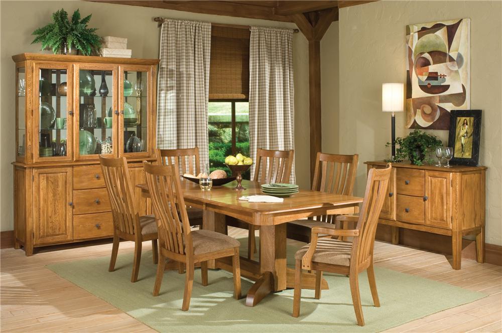 Intercon Highland Park  9Pc Dining Room - Item Number: HP9PC
