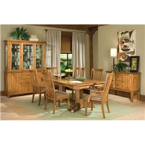 Intercon Highland Park  9Pc Dining Room