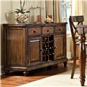 "Intercon Kingston  58"" Wine Server - Item Number: KG-CA-5836-RAIC"