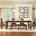 Intercon Kingston  6Pc Dining Room - Item Number: KG6PC