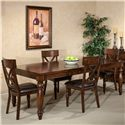 Intercon Kingston  7Pc Dining Room - Item Number: KG7PC