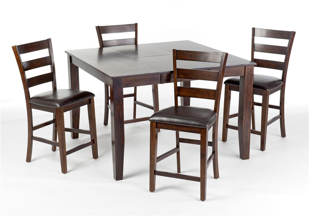 Intercon Kona 5Pc Counter Height Dinette - Item Number: KA-TA-5PC-C