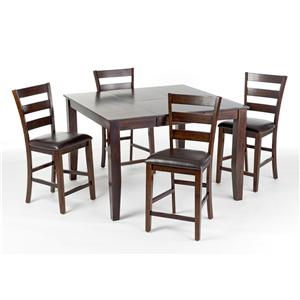 5Pc Counter Height Dinette