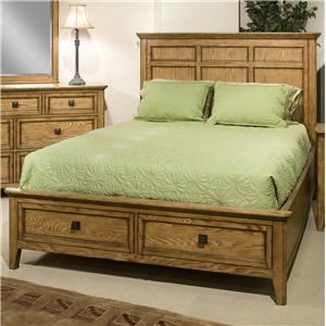 Intercon Alta Queen Storage Bed