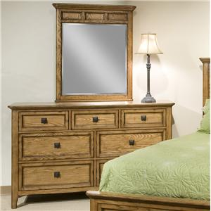 Intercon Alta Dresser & Mirror Set
