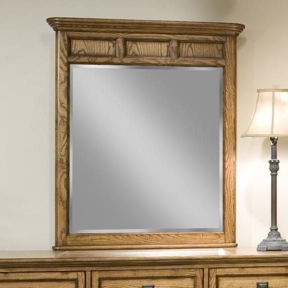 Intercon Alta Dresser Mirror - Item Number: AL-BR-5391-BAS-C