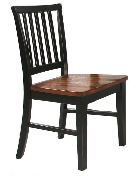 Intercon Arlington Slat Back Side Chair - Item Number: AR-CH-180-XXX-RTA