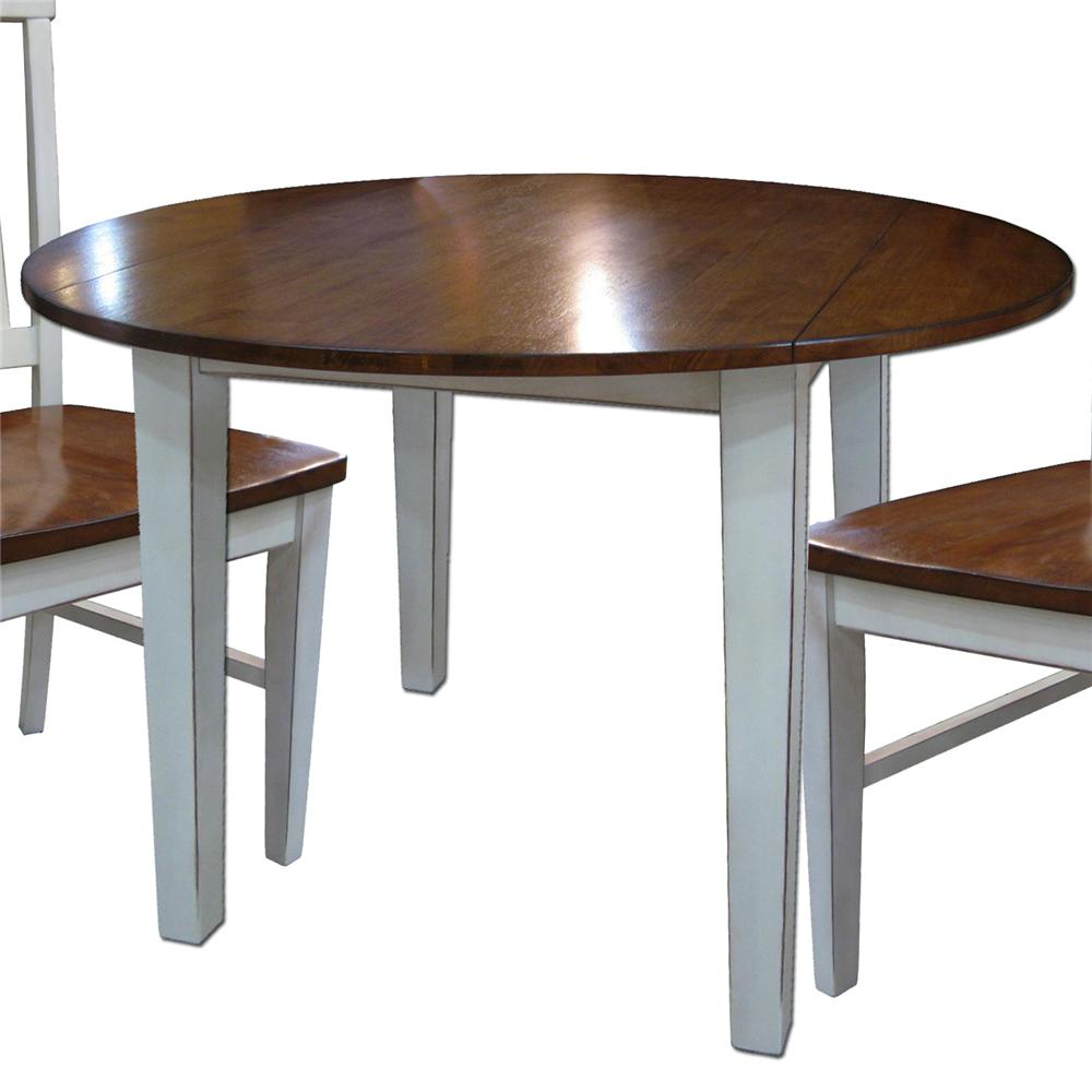 Intercon Arlington Drop Leaf Table - Item Number: AR-TA-4242D-XXX-C-WHJ