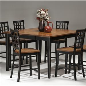 Intercon Arlington Four Leg Gathering Table