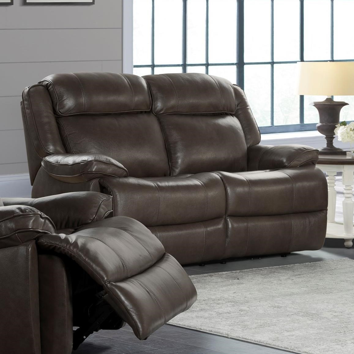 Avalon Dual Power Reclining Loveseat by Intercon at Rife's Home Furniture