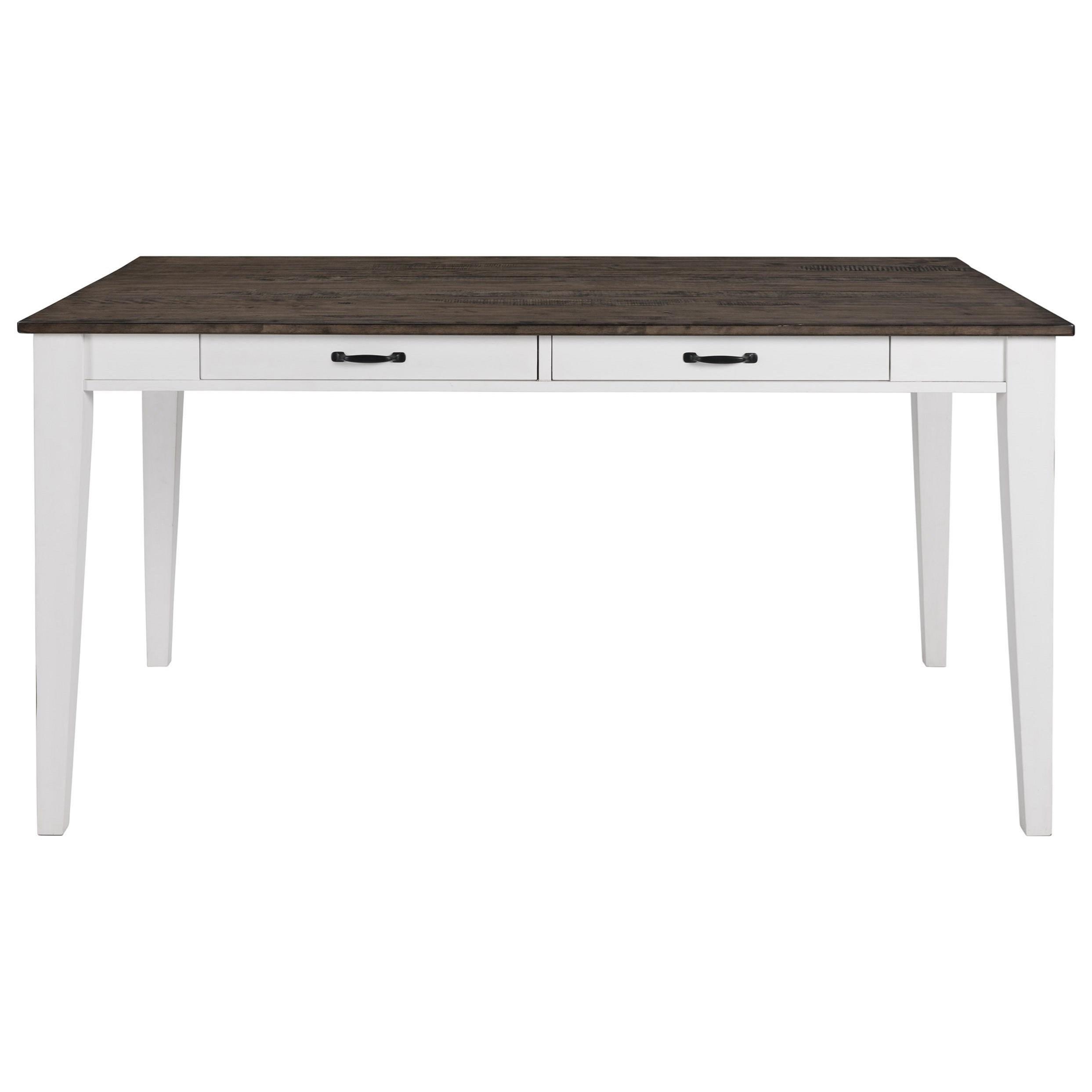Belgium Farmhouse  Counter Table by VFM Signature at Virginia Furniture Market