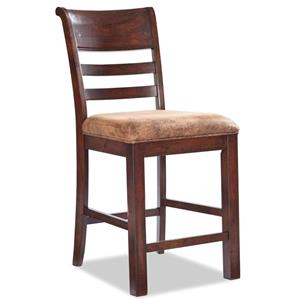 Intercon Bench Creek Ladder Back Counter Stool