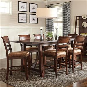 Intercon Bench Creek 7-Piece Pub Set